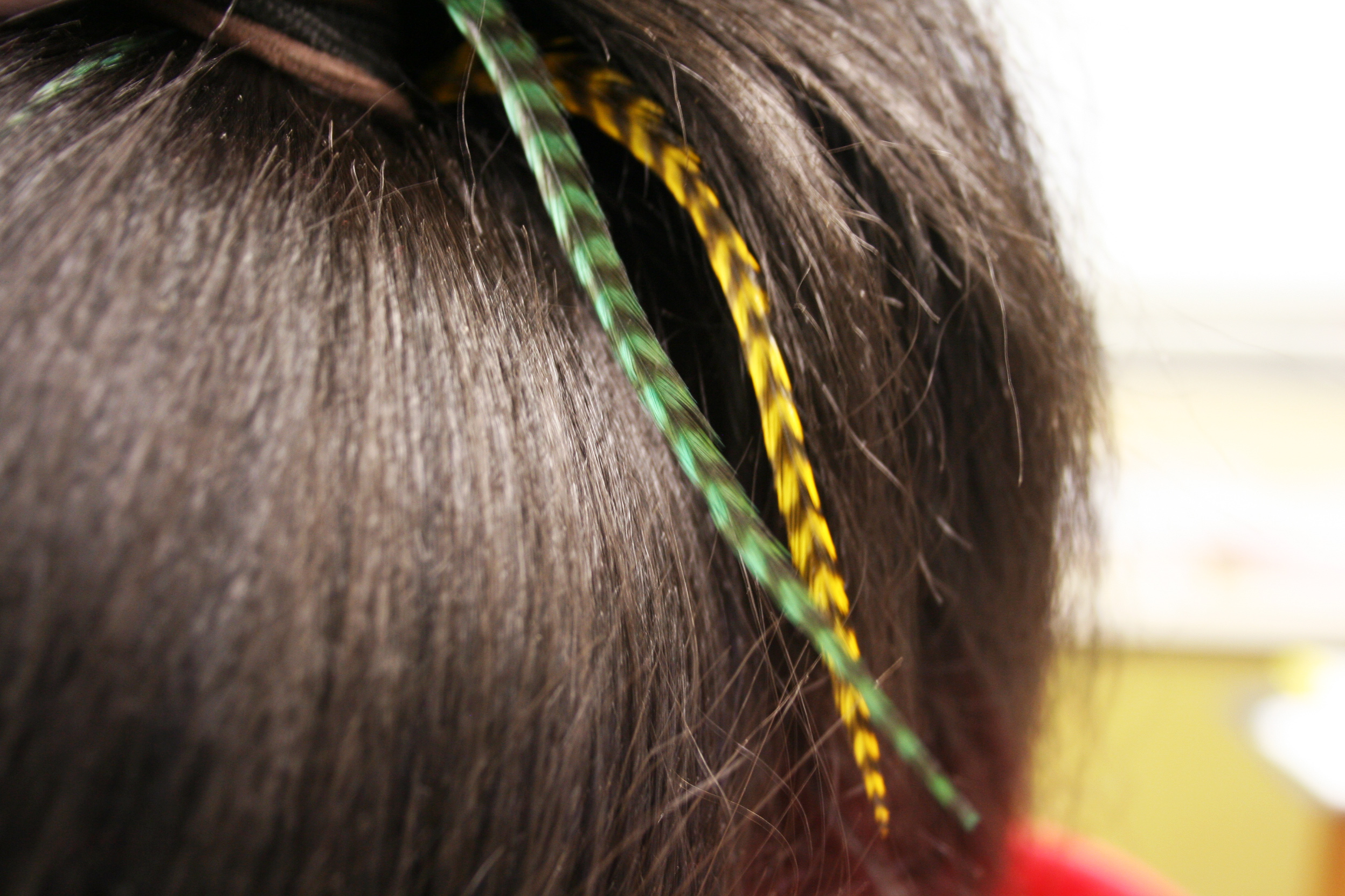 Hair Feather Extensions Add Drama To Style Knight Life News