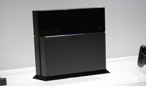 The Microsoft Playstation 4. The system will be available for retail on November 15th, 2013. Photo by E3
