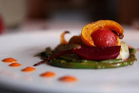 This is an example of food that will not bore your taste buds. Dishes like this are served a main courses at Food Dance.