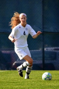 Jane Labadie in action last year. The soccer team is 4-1 so far this year.