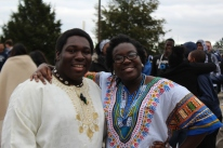 Team African, Syndy Ellis and Sarah Girimia.