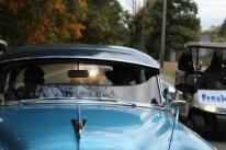 Mr. Duckett in his favorite old car.