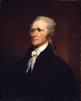 The actual Alexander Hamilton.