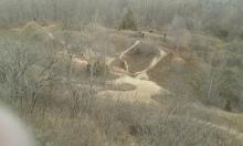 Raptor Ridge of an overlook of Kalamazoo Valley