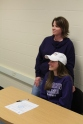 Pictured with her mother, Dominique Ranger, Loy Norrix senior Marah Ranger is proud to say she's signed to play at Albion College. Photo Credit/ Caitlin Commissaris
