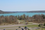 Overlooking Glen Lake. This is from the top of Sleeping Bear Dunes. Photo Credit / Clayton Barker
