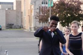 Sophomore Alex Johnson. Photo Credit / Jordan Brown