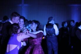 Seniors Alex Lutz, Kate Puca, Megan Zabik, and Junior Lena Wood. Photo Credit / Jordan Brown