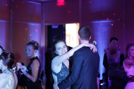 Junior Laura Worline and Senior Grant Mitchell. Photo Credit / Jordan Brown