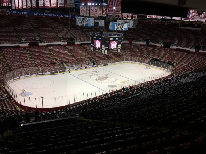 One last look at The Joe. The Red Wings played their last game on April 9, 2017 against New Jersey Devils. Photo Credit / Abby Farrer