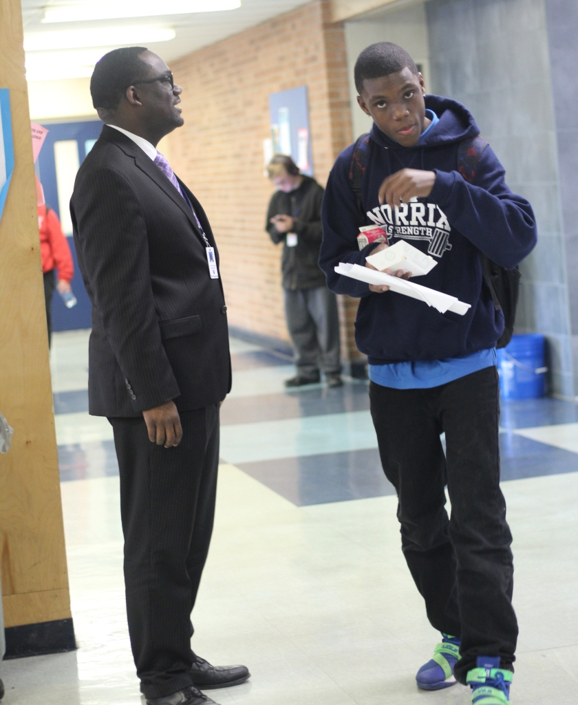 Edwards and student