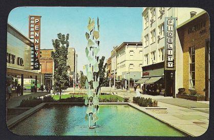 Burdick Mall Old Kalamazoo1960
