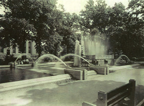 Fountain of Pioneers 1940