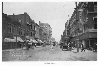Old South Burdick Street1914
