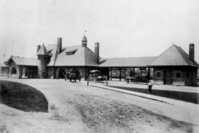 Railroad Depot 1895